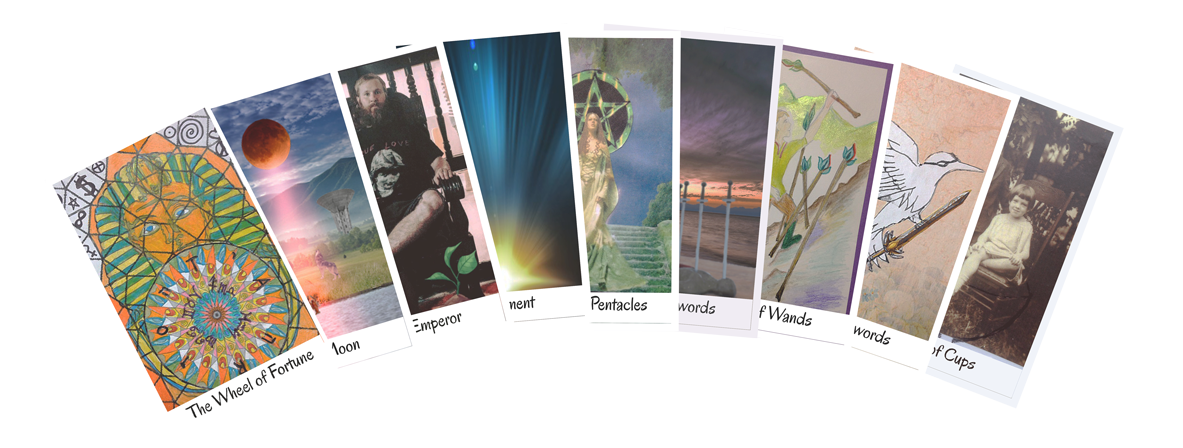 Image of some of the Tarot cards